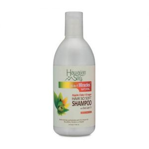 Hawaiian Silky Apply Cider Vinegar Shampoo with Black Castor Oil