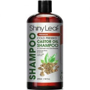 Shiny Leaf Cold Pressed Castor Oil Shampoo