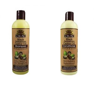 Okay Black Jamaican Castor Oil Shampoo and Conditioner