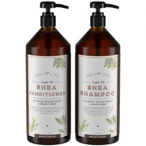 Calily Life Shea Butter Shampoo and Conditioner